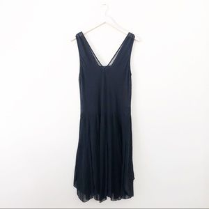 Polo Ralph Lauren Sleevless Black Midi Dress
